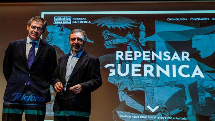 El 'Guernica', repensado y al detalle en una monumental web del Reina Sofía