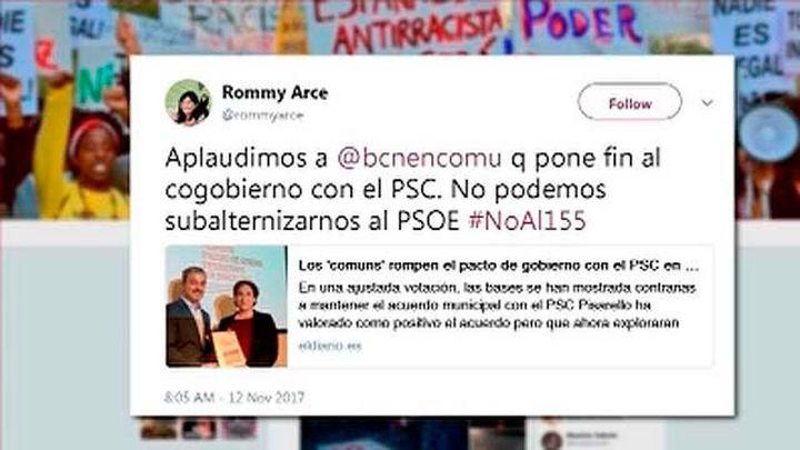 "Carmena sobre el tuit de Arce: Responde a ""decisiones poco meditadas"""