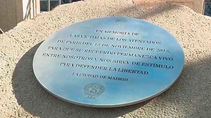 Madrid recuerda a las víctimas de Bataclán en París