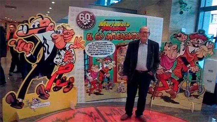 Francisco Ibáñez se abre a un futuro de 'Mortadelo y Filemón' con otros autores
