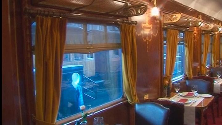 El Museo del Ferrocarril recrea la película 'Asesinato en el Orient Express'
