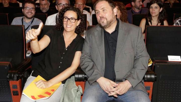 Junqueras apunta a Marta Rovira como presidenta de la Generalitat si ERC gana