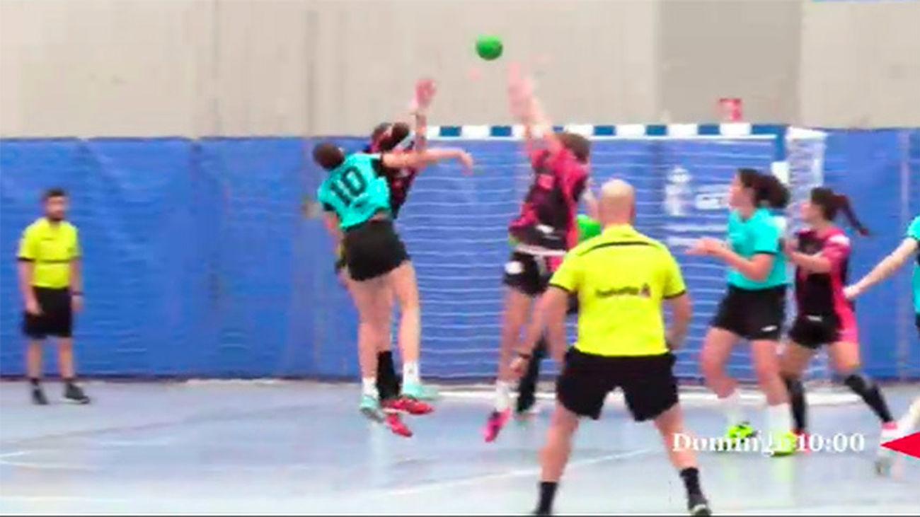 Balonmano femenino en LaOtra