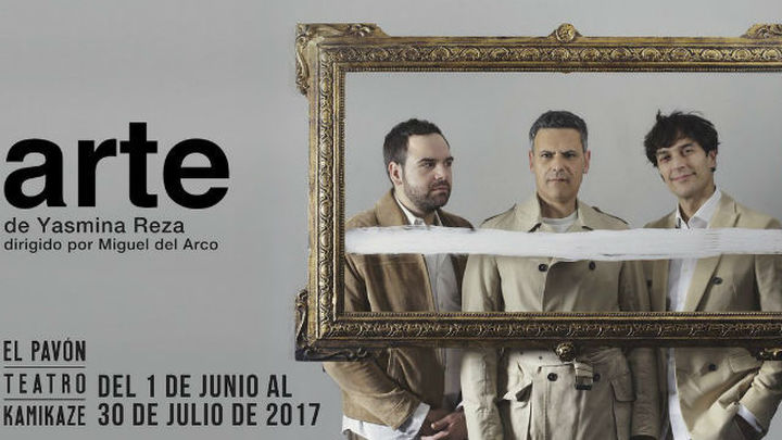 Roberto Enríquez, Cristóbal Suárez y Jorge Usón regresan al Pavón con 'Arte'