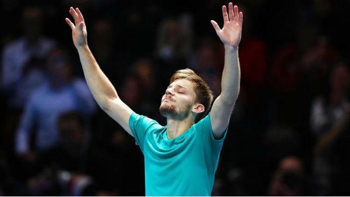 Goffin, amarga el día a Federer y logra la final del Masters