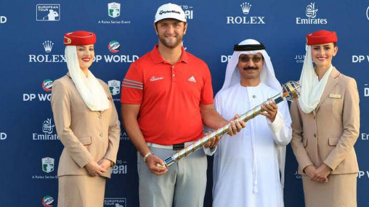 Jon Rahm triunfa en Dubai