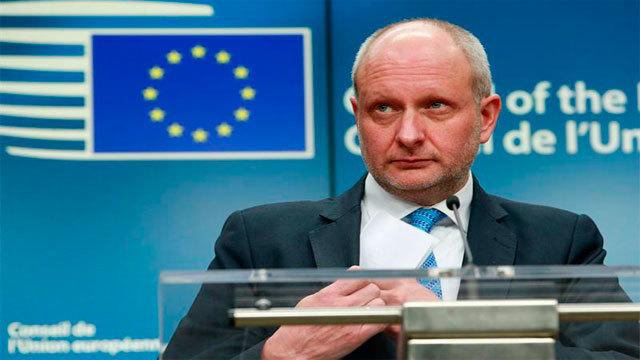 El viceministro de Asuntos Exteriores de Estonia y presidente del Consejo de Asuntos Generales de la Unión Europea, Matti Maasi
