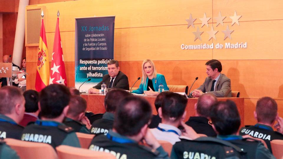 Cifuentes, FEMP y las Fuerzas de Seguridad apelan a la coordinación contra el yihadismo