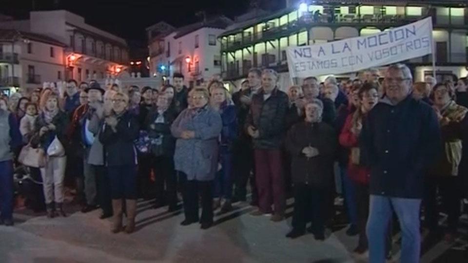 El PSOE de Chinchón retira la moción de censura por orden de Ferraz