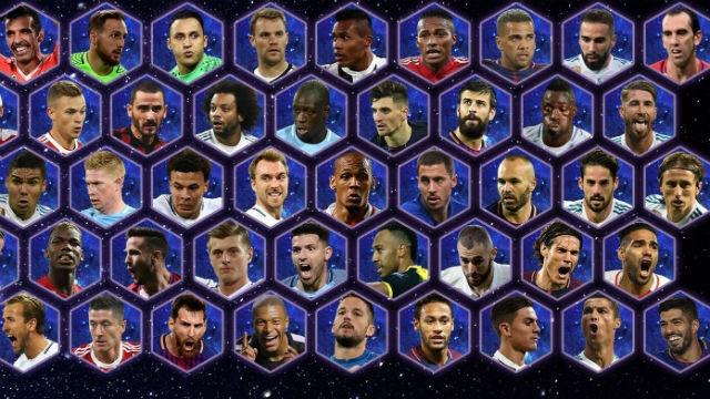 Preselección UEFA