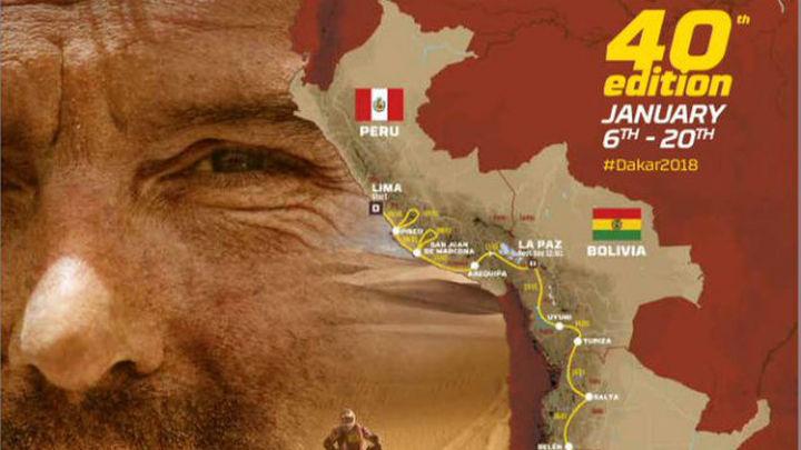 El Dakar 2018 festeja su 40 aniversario pasando por Perú, Bolivia y Argentina