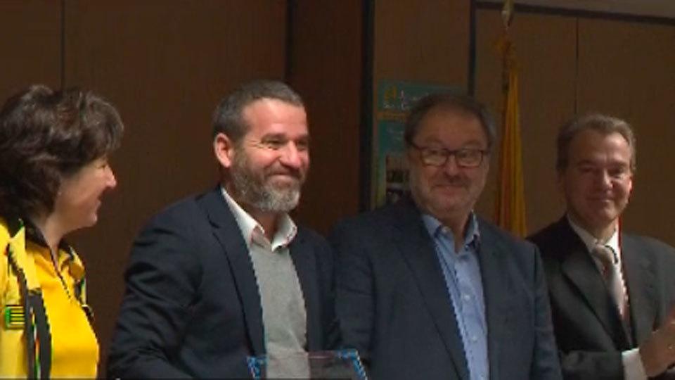El Samur premia a los colaboradores, entre ellos a Telemadrid