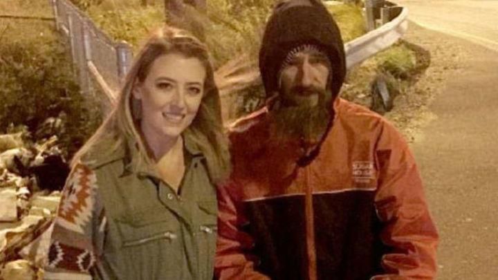 Una joven recauda 225.000 dólares para un 'sin techo' que la ayudó