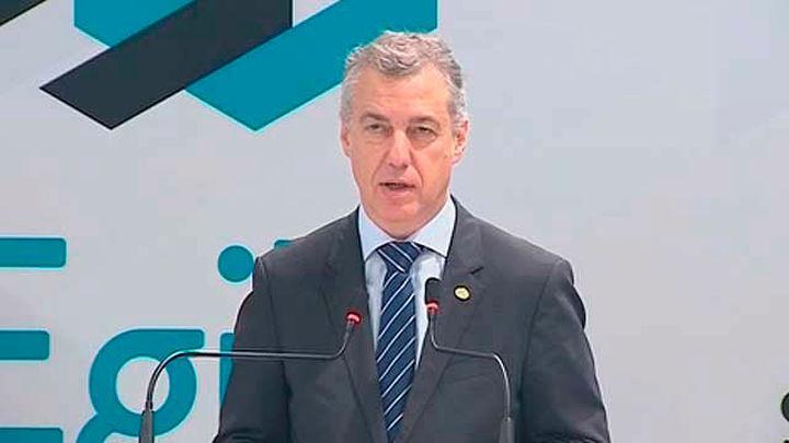 Urkullu adelanta  las elecciones vascas al 5 de abril