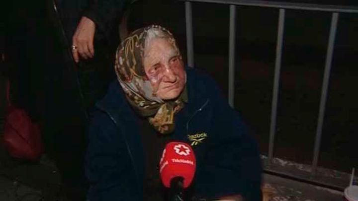 Una anciana sin hogar de 85 años agredida en el centro de Madrid