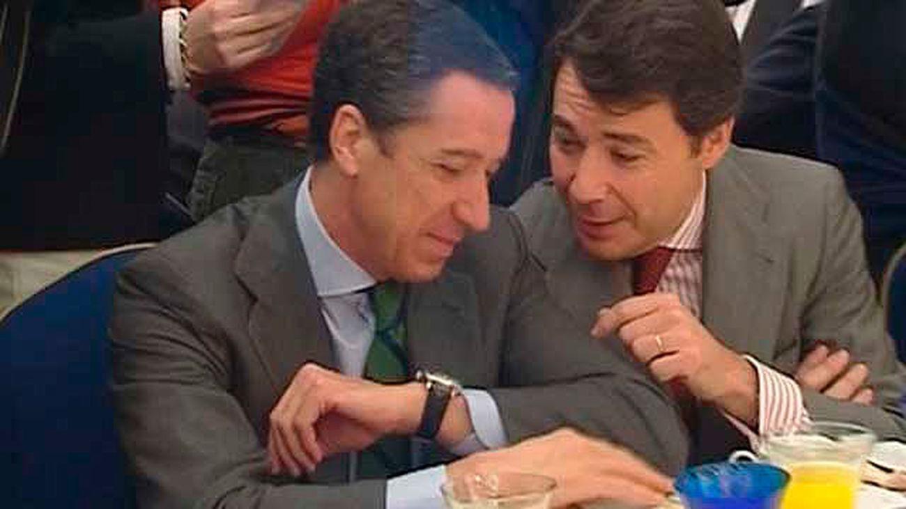 El juez cita como testigos en 'los papeles de Bárcenas' a Zaplana e Ignacio González