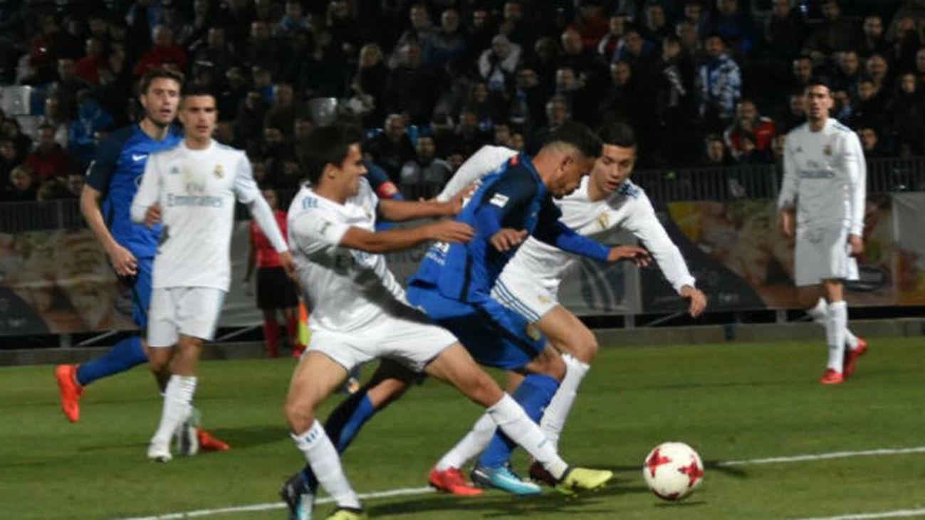 0-0. Empate entre el Fuenlabrada y el Real Madrid Castilla