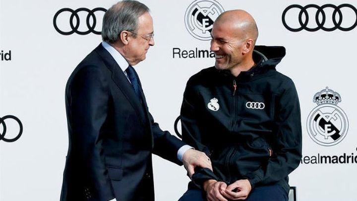 "Florentino Pérez: ""El Real Madrid nunca se rinde"""