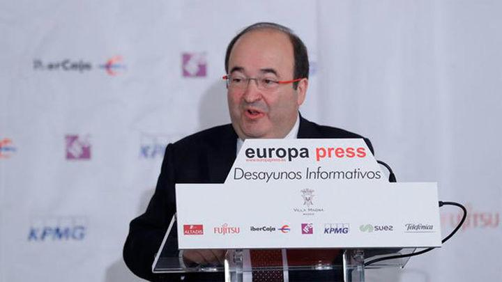 Iceta garantiza que el PSC no apoyará a un candidato independentista