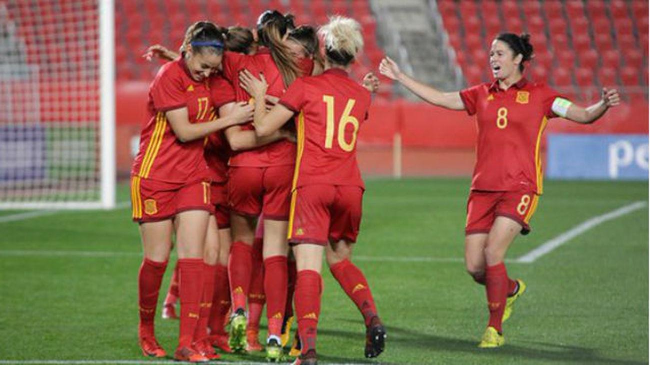 0-4. España arrolla a Austria y pone la directa hacia el Mundial