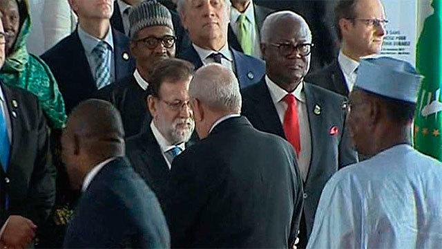 Rajoy en la reunión de los líderes europeos y africanos que se celebra en Abiyán
