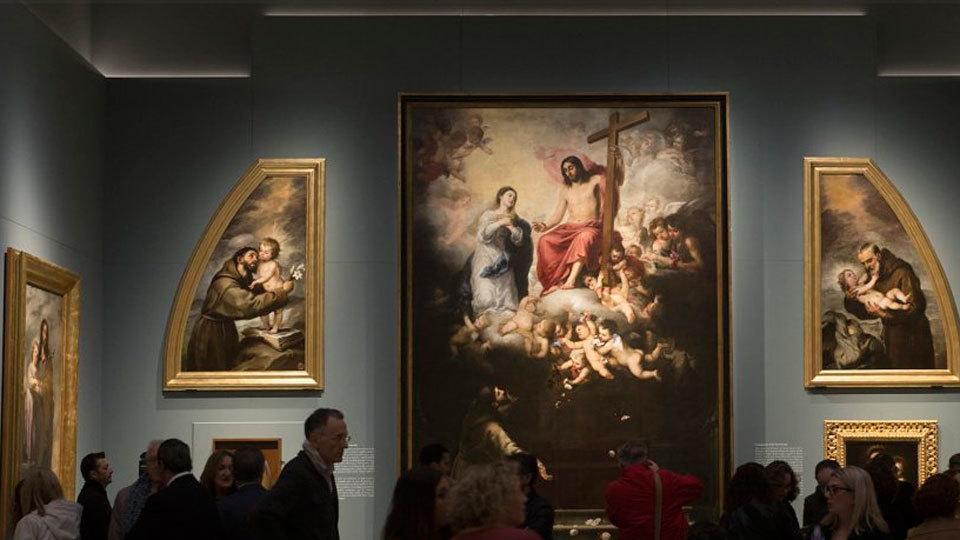 """La exposición """"Murillo y los capuchinos de Sevilla"""" abre el año dedicado al pintor"""