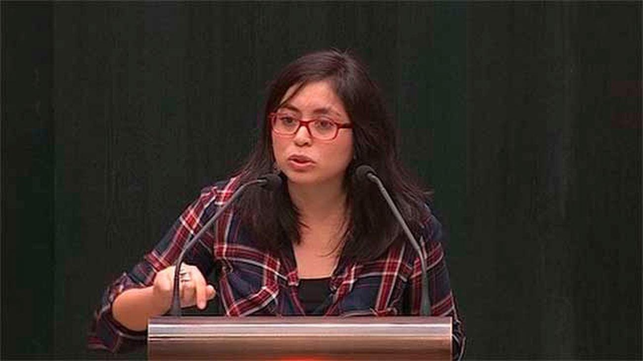 El Pleno pide a Carmena apartar a Rommy Arce a propuesta del PSOE