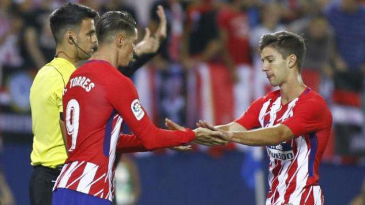 Torres y Vietto, momentos opuestos en el 'casting' de delanteros del Atlético