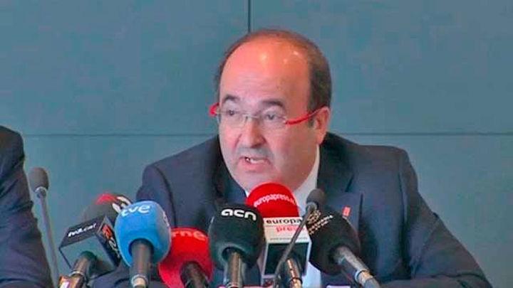 Iceta propone ahora una Hacienda federal que recaude los impuestos de Cataluña