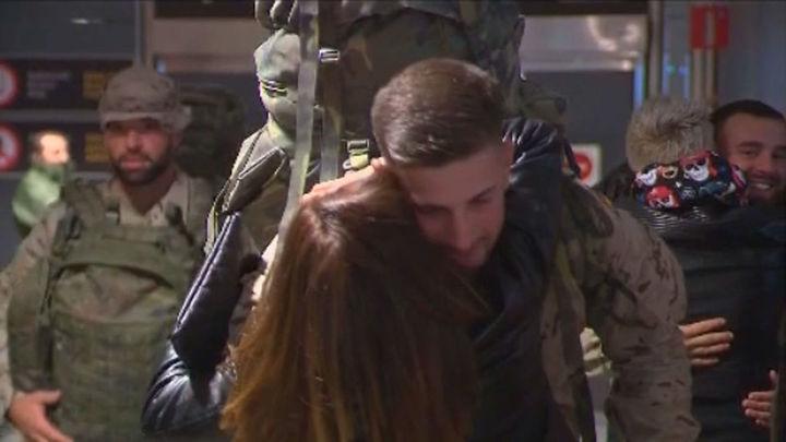 Regresan a casa los militares de El Goloso tras seis meses en Irak