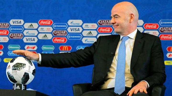 """Infantino: """"El Mundial de Rusia será el mejor de la historia"""""""