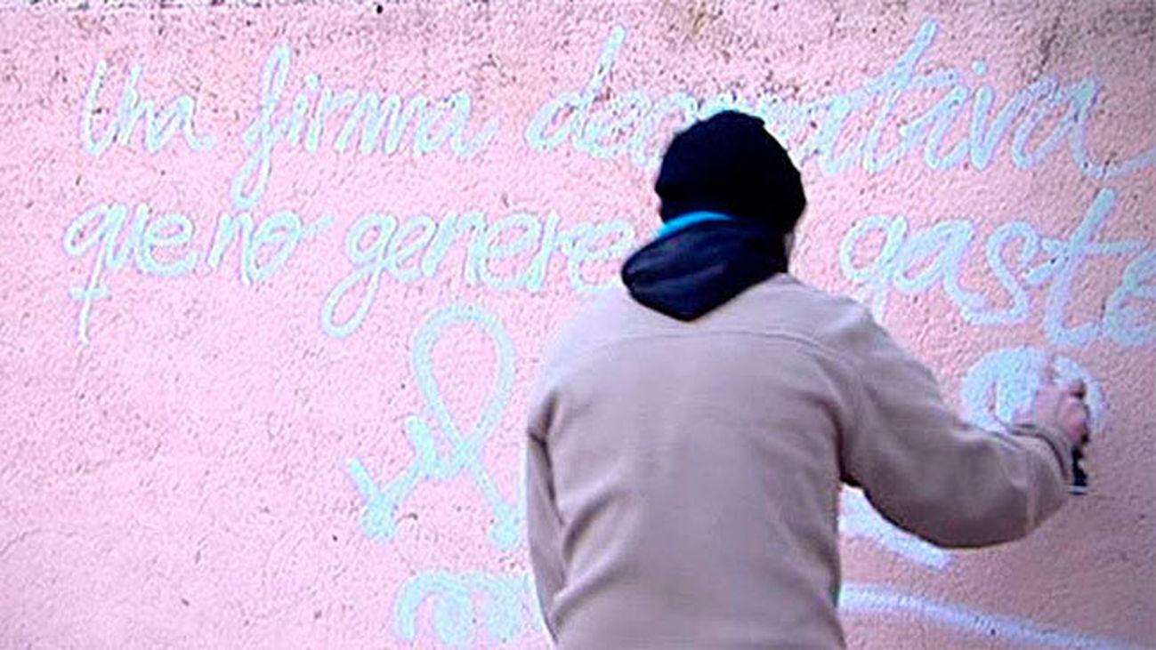 """La obra """"Muelle Fondo"""" gana el I Certamen de Arte Urbano Juan Carlos Argüello"""