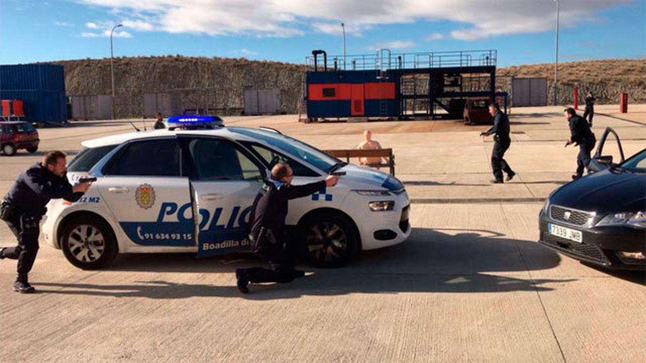 La Comunidad forma a 180 policías municipales de la región frente a ataques terroristas
