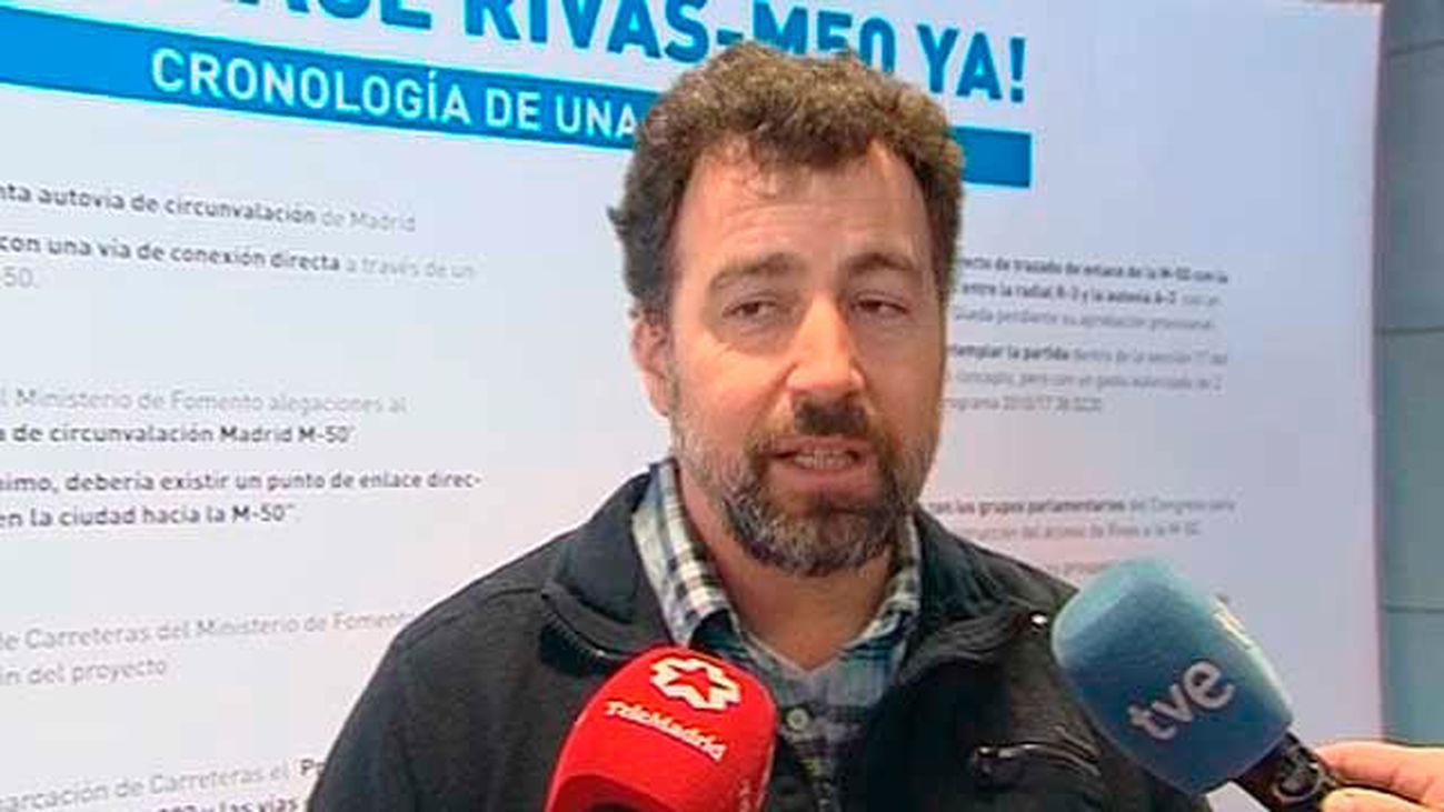 El Gobierno de Rivas se encierra en el Consistorio por un acceso a la M-50