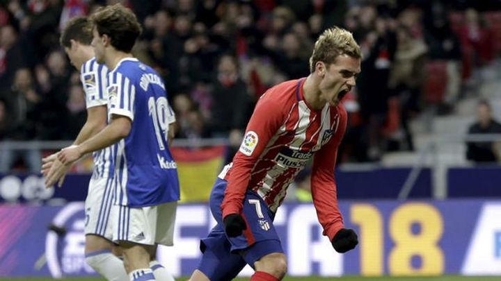 2-1. Griezmann acerca al Atlético al liderato