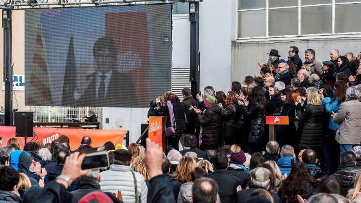 """Puigdemont (JuntsxCat) pide encarar el 21-D como """"segunda vuelta"""" del referéndum"""