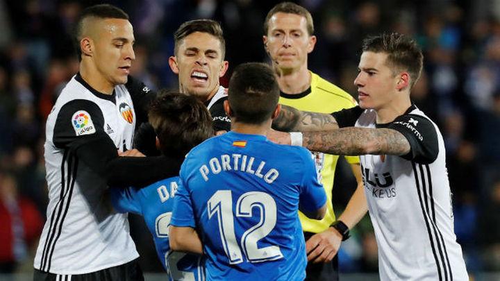 1-0. El Getafe sonroja al Valencia