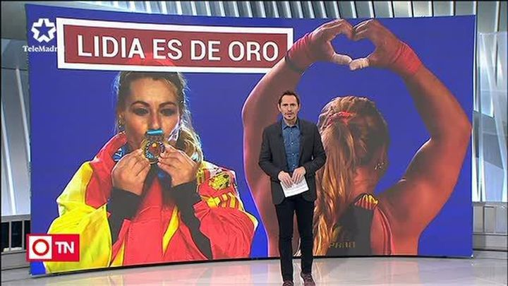 Lidia Valentín, campeona del mundo