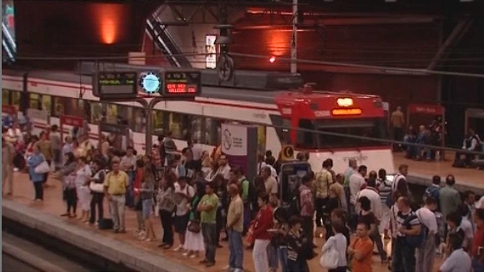 Cercanías restaura tras dos horas el servicio en la estación de Cercanías de Sol