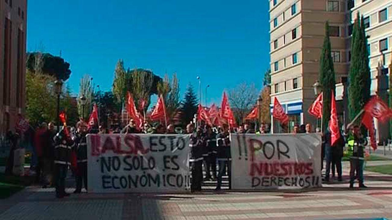 Los trabajadores de Irubus solicitan la intercesión del Consorcio en la huelga
