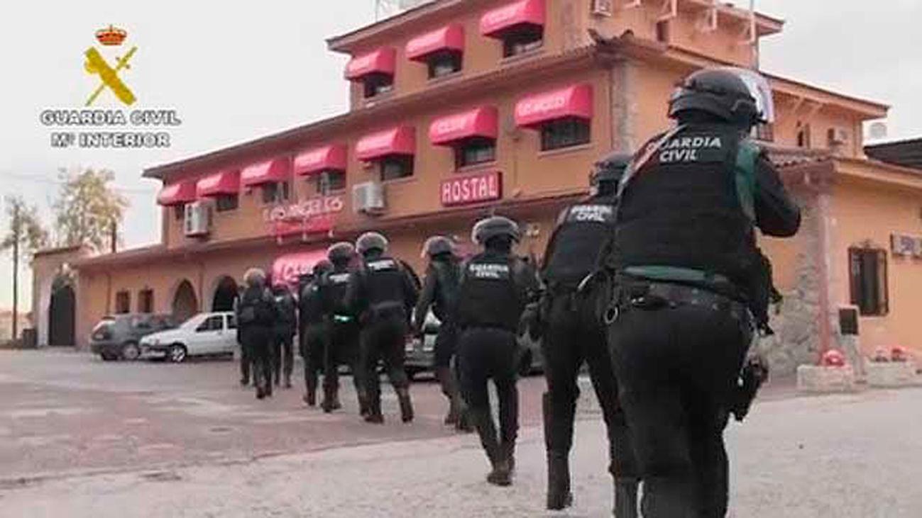Tres detenidos por secuestrar a una persona en Santa Olalla (Toledo) que estuvo retenida más de 20 horas