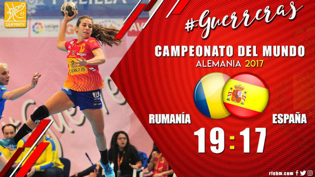 Selección española femenina de balonmano