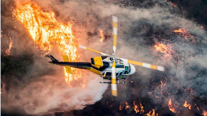 Los incendios alcanzan Los Ángeles y a las millonarias mansiones de Bel Air