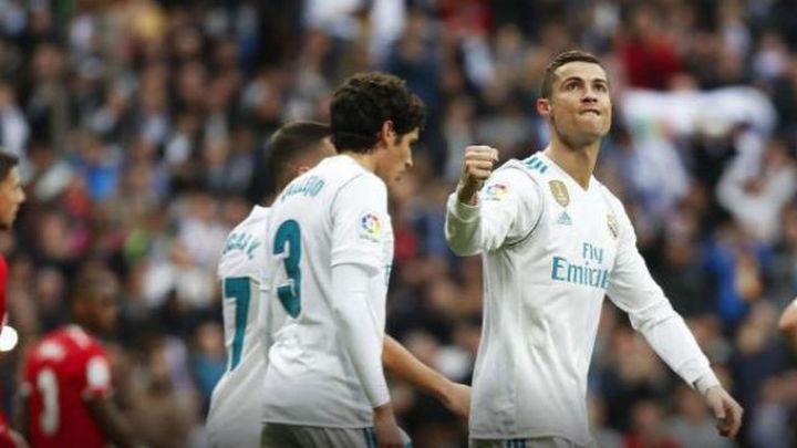 5-0. El Real Madrid endosa una 'manita' al Sevilla con doblete de Cristiano
