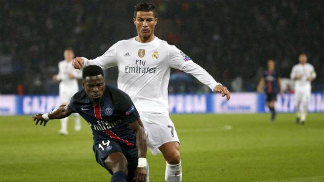 Cristiano Ronaldo ante el PSG