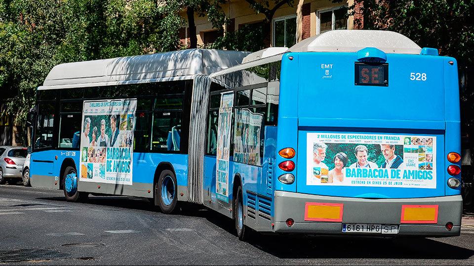 el uso del autob s cay 2 8 en octubre en madrid y el de