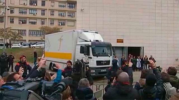 Trasladan los 43 bienes de Sijena desde Lleida a Aragón tras su embalaje