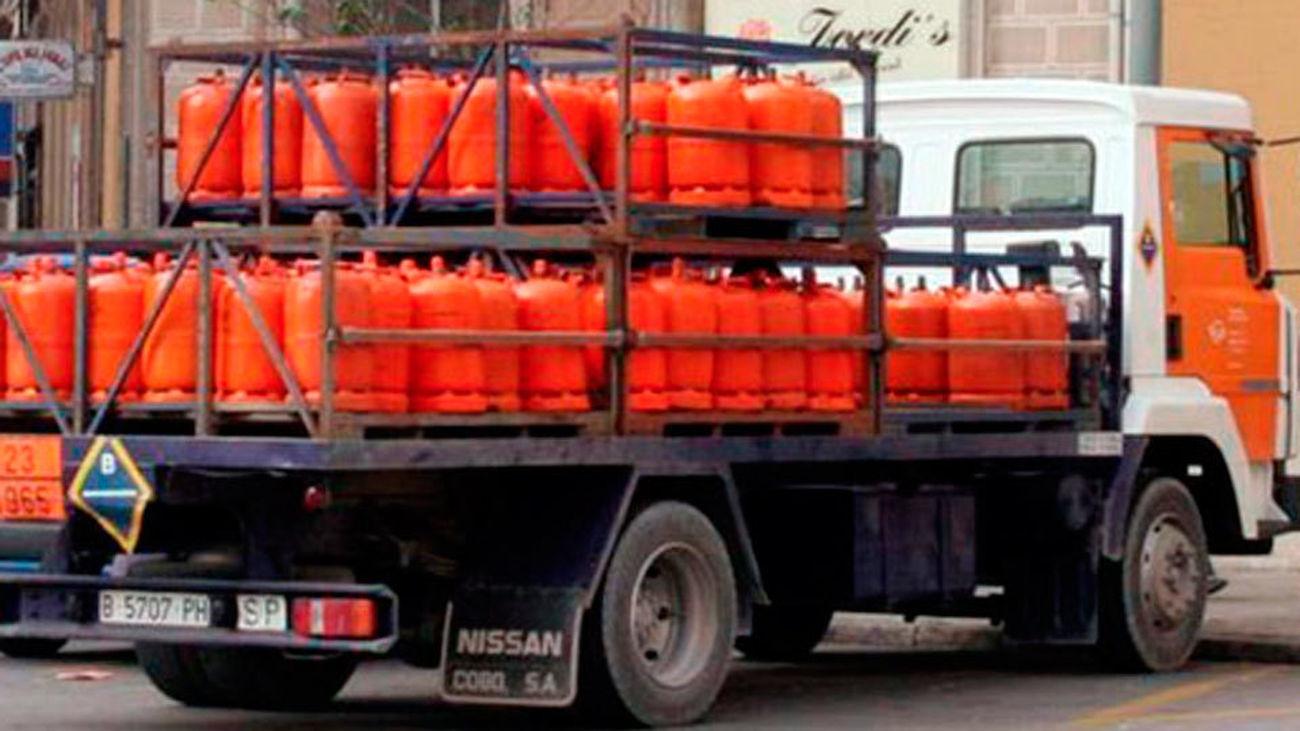La Policía atribuye a delincuentes comunes el robo de 1.843 bombonas de butano