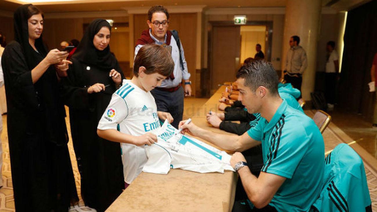 Emiratos vive con gran expectación el debut del Madrid en el Mundial
