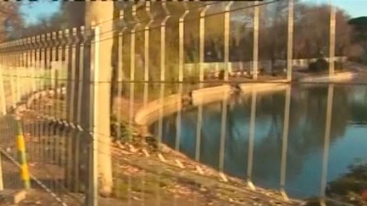 Comienza el vaciado del Lago de Casa de Campo para limpiarlo